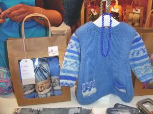 Hand Knitted Baby Gift Baby Tunic