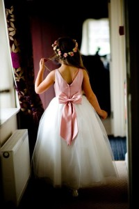 flower girl dress made to measure