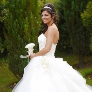 bespoke bridal gown